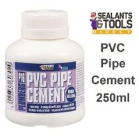 Everbuild P16 PVC Plumbing Pipe Cement Glue Adhesive