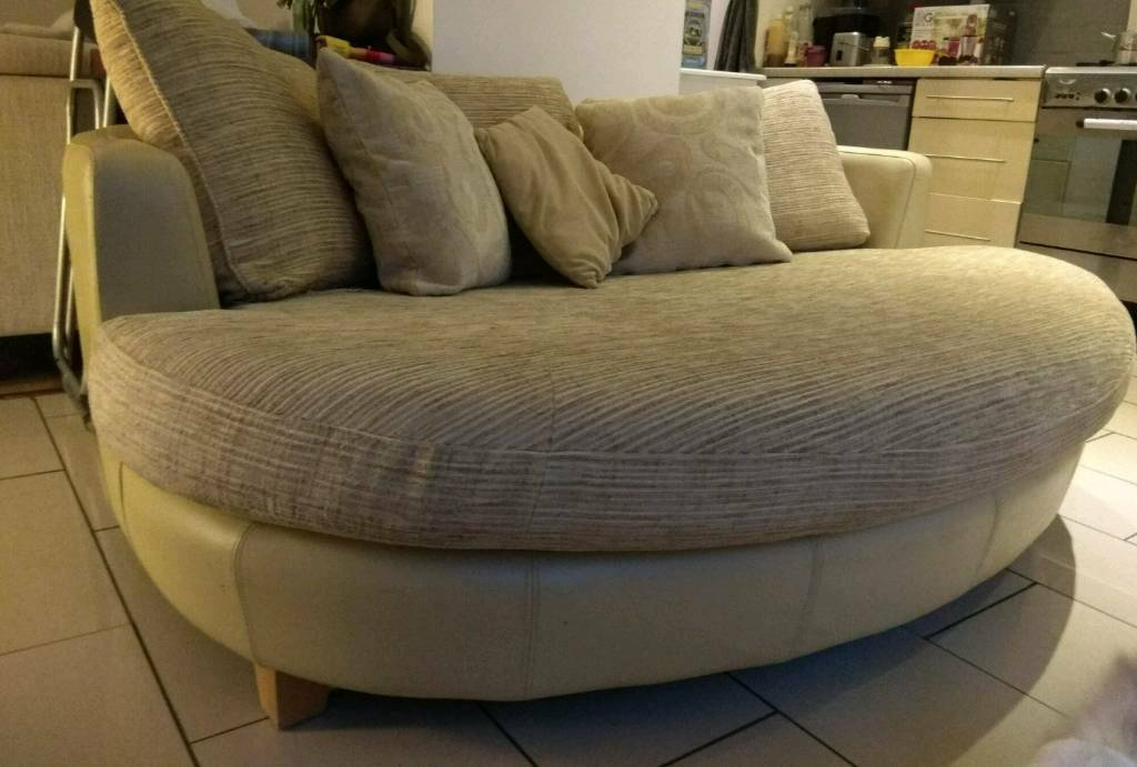 recliner chair covers grey graco duodiner high canada gorgeous oval round couch dfs snuggle cuddle love sofa | in kitts green, west midlands ...