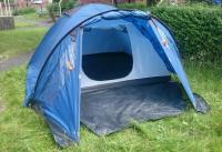 Trespass 4 man dome tent
