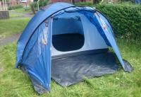 Trespass 4 man dome tent