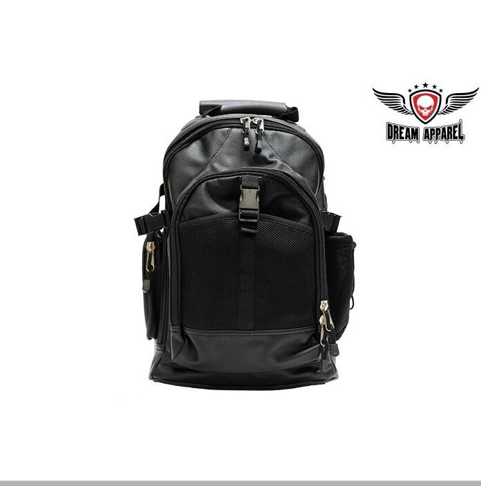 Motorcycle Sissy Bar Bag Black PVC w/Rollers. Passenger Backrest Chopper Luggage   eBay