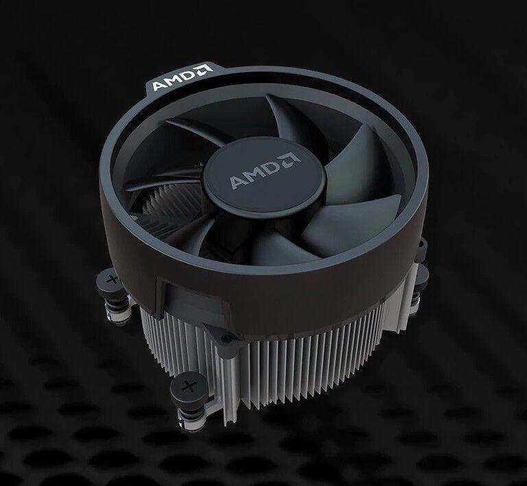 AMD Wraith Spire CPU Kühler für AM4 für bis zu 95W NEU! Leise!