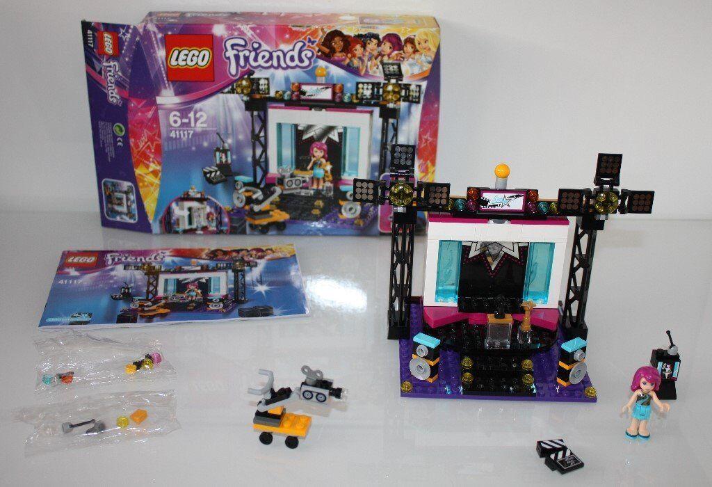 Excellent Condition Lego Friends Pop Star Tv Studio Set