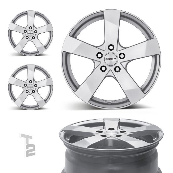 4x 16 Zoll Alufelgen für VW Caddy, Maxi / Dezent TD 6,5x16 ET50 (B-0600896)