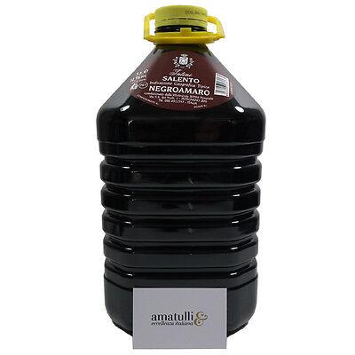 Negroamaro del Salento I.G.T Rosso 14,5% - 5 Liter - Italien - Rotwein Apulien