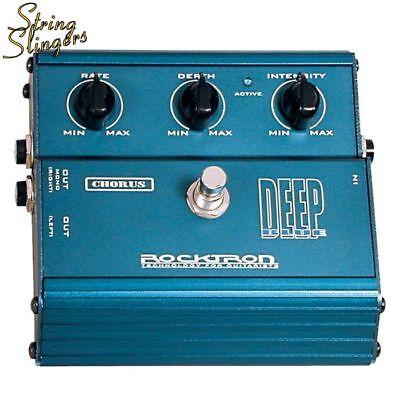 Rocktron Classic Deep Blue Chorus Effects Pedal.