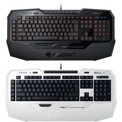 ROCCAT Isku FX Multicolor Gaming Tastatur QWERTZ Tastaturbeleuchtung Deutsch NEU
