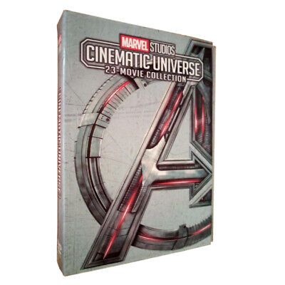 MARVEL STUDIOS CINEMATIC UNIVERSE 23-MOVIE (12-Disc DVD Set) Free Shipping