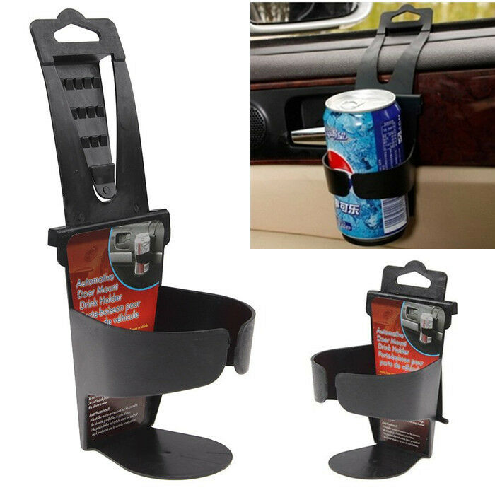 portable baby high chair hook on posture for home universal vehicle car truck door mount drink bottle cup holder stand black jp | ebay