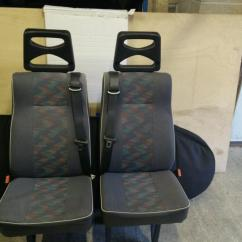 Gumtree Wedding Chair Covers For Sale Dining Foam Replacement Van Rear Seats With Integrated Seat Belts. | In Caerphilly