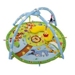 Tiny Love Bouncer Chair Adjustable Height Chairs Winnie The Pooh Baby Gym | Toys Ebay