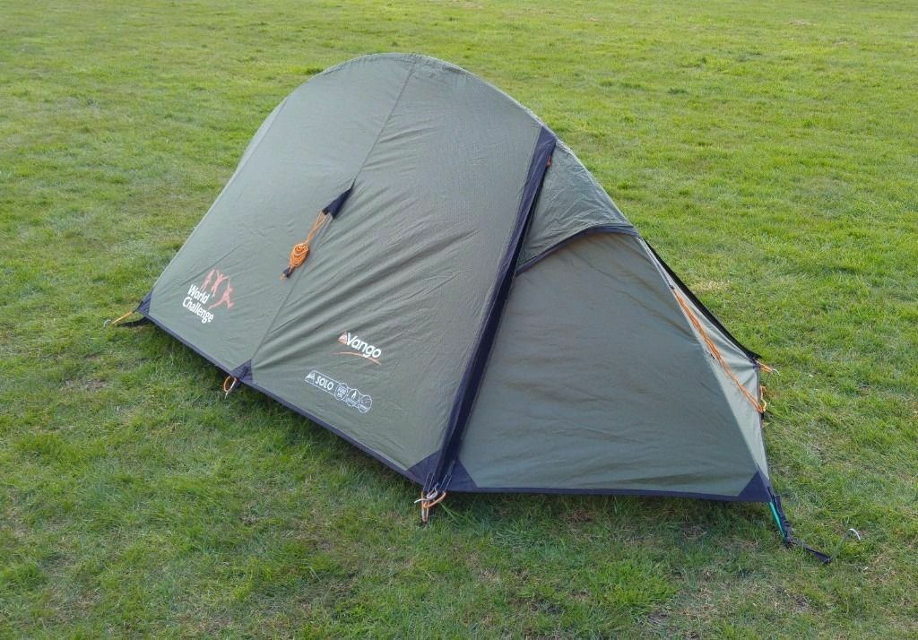 Vango Solo 100, 1 man tent World Challenge Branded brand