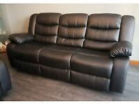 sofa warehouse leicestershire leather corner next sofas armchairs couches suites for sale gumtree brand new 3 and 2 recliner