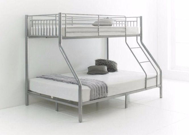 Chrismis Offer Lowest Prices Brand New Triple Metal Bunk Bed
