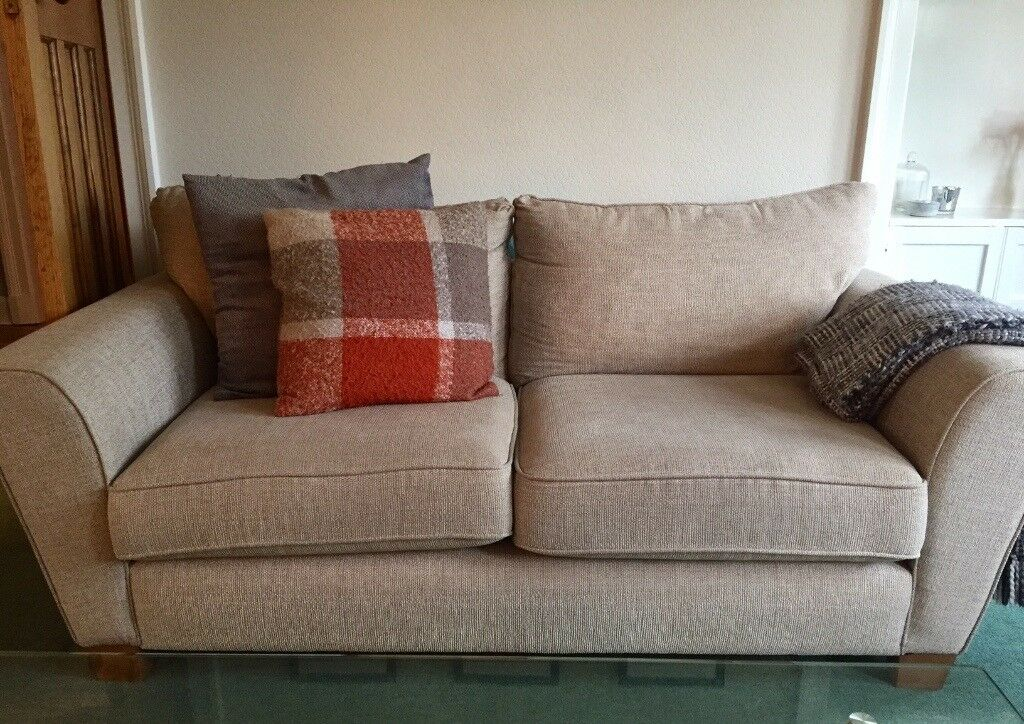 z chair for sale swivel philippines scs lois range 3 seater sofa and patterned - nearly new! | in blackhall, edinburgh gumtree