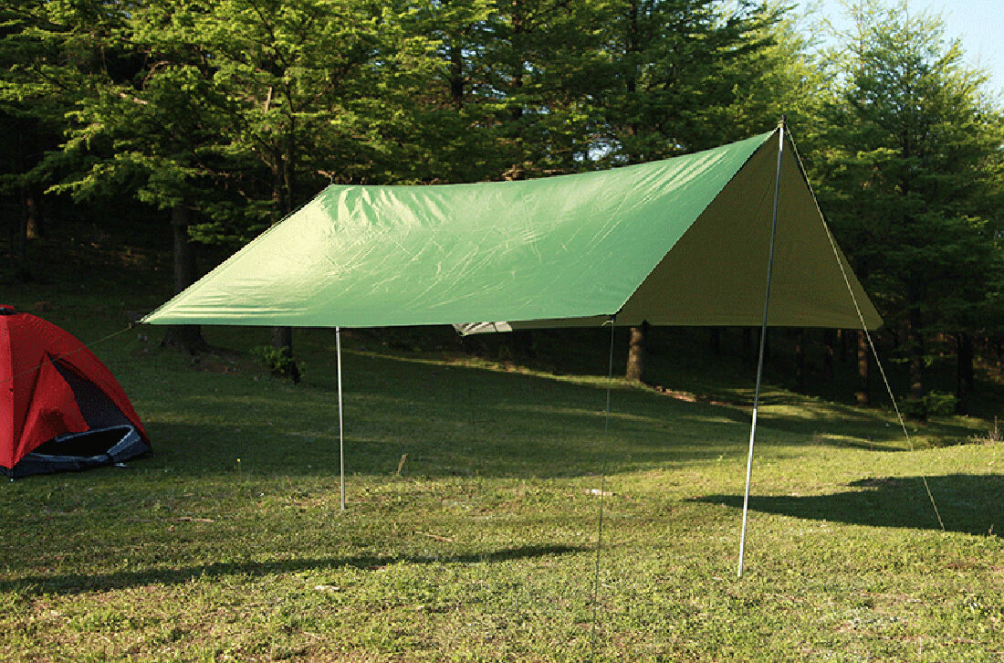 Portable Lightweight Camping Tent Tarp Shelter Mat Hammock