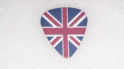 NEW 1.0 mm UNION JACK UK ENGLAND FLAG 2 SIDED DESIGN GUITAR PICK PLECTRUM