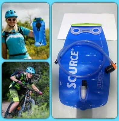 Source Outdoor Widepac Hydration System Reservoir with Helix Bite Valve, 3-Liter