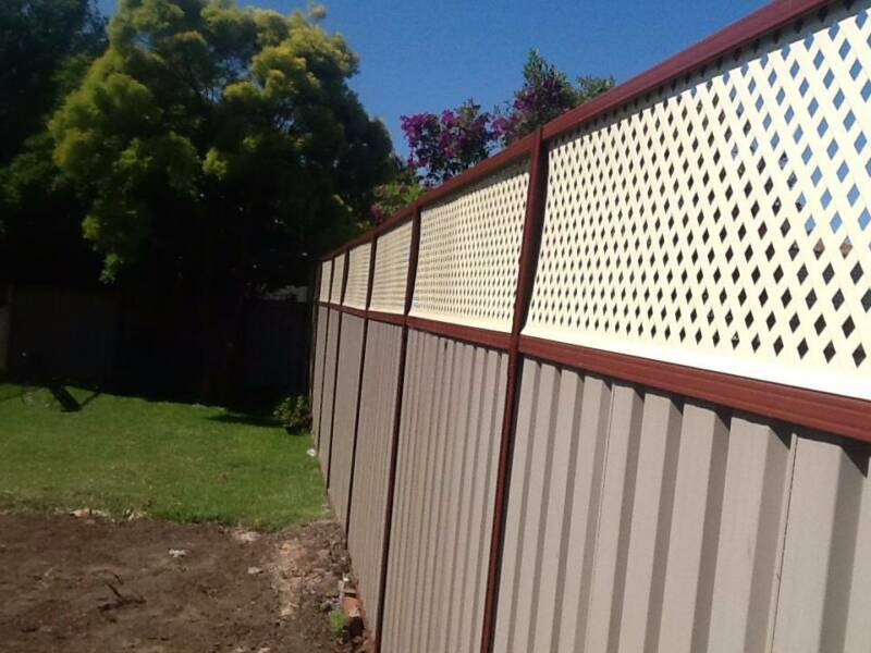Colorbond Fence Extension 300mm | mountainstyle co