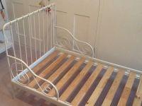 IKEA white extendable Minnen child's single bed | in ...