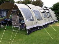 Outwell Bear Lake 6 tent and front extension plus ...