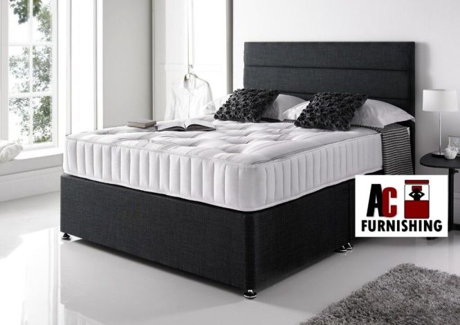 Orthopedic Divan Bed Brand New Double Base With
