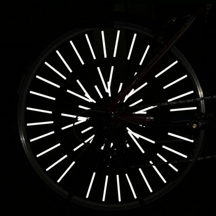 Fahrrad Reflektor Sicherheit Speichenreflektoren Felgen Felgenreflektoren Bike