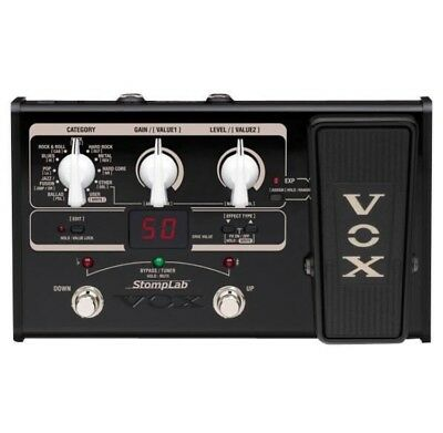 VOX StompLab SL2G Modeling Guitar Effect Processor Effects Pedal