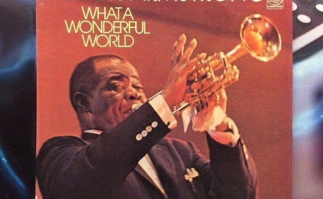 Louis Armstrong What A Wonderful World Vinyl Record Jazz
