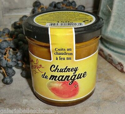 MHD 11/18 SALE! 150 g Mango Mangue Chutney Georgelin Aufstrich France Dip Paste