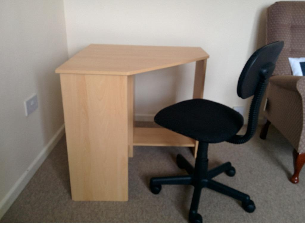 desk chair tesco gothic dining chairs uk collin corner argos office in sawston cambridgeshire gumtree