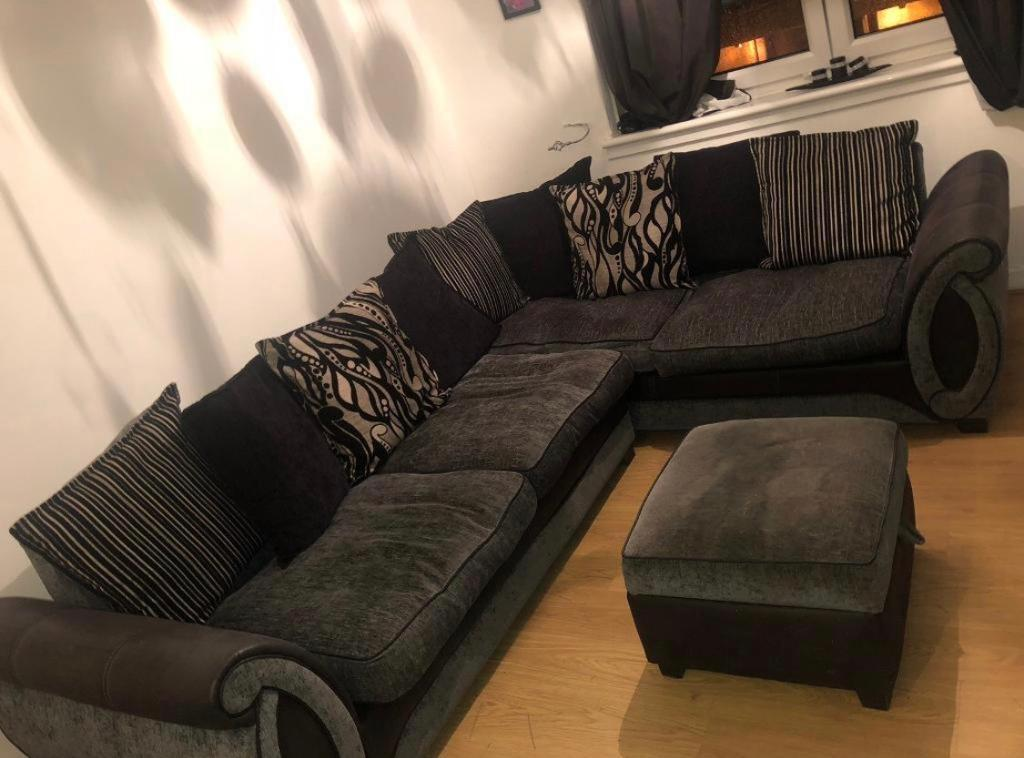 corner sofas glasgow gumtree 7 piece sectional sofa costco with ottoman in east end