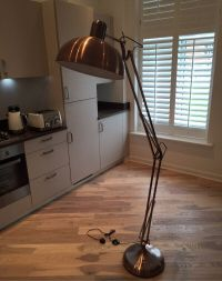 Copper Angled Floor Lamp 100 | in Bromley, London | Gumtree