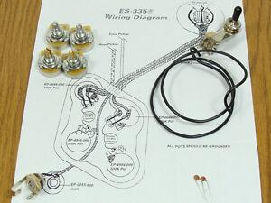 ES 335 Wiring: Guitar Parts   eBay