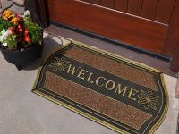 Strong Indoor Outdoor Welcome Entrance Front Door Mat ...