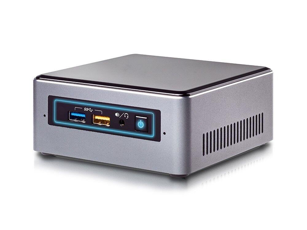 Intel Nuc Mini PC - Intel J3455 4x 1,5 GHz (2,3Turbo) - 128GB SSD - 8GB - Win10