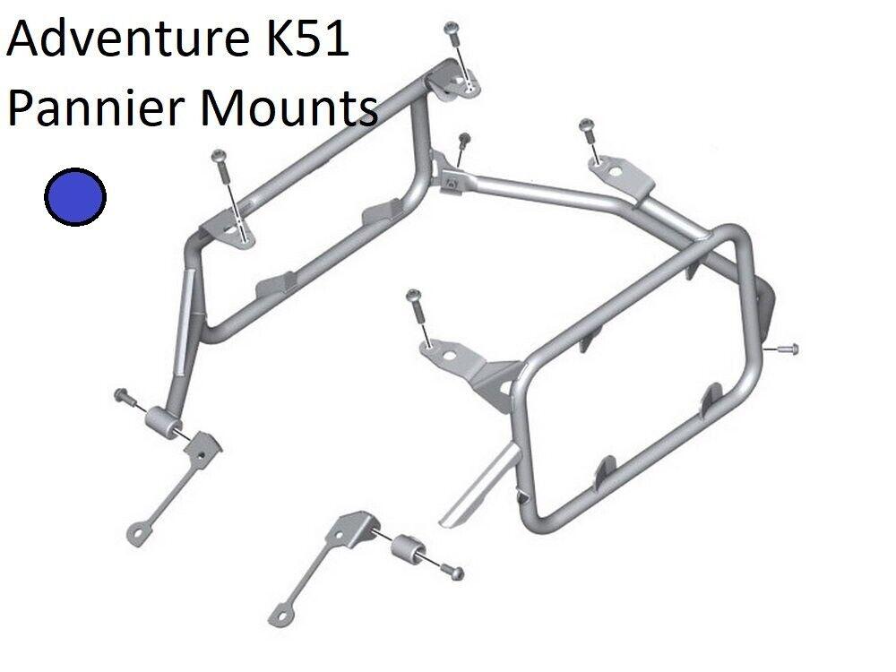 BMW R1200GS Adventure LC Model K51 Aluminum Pannier