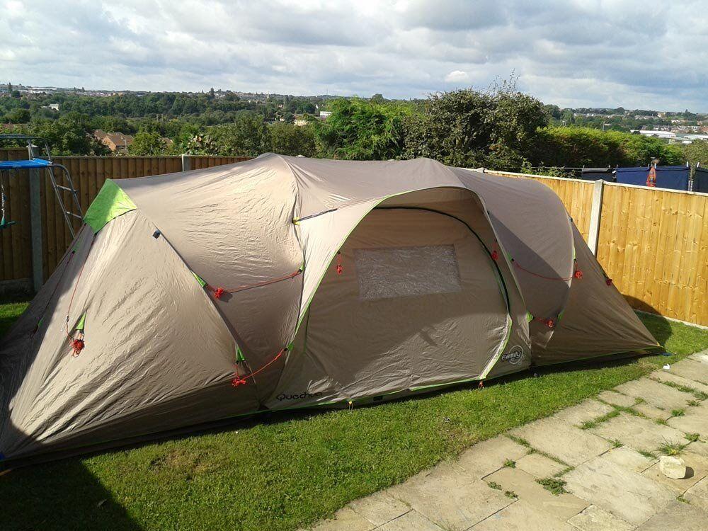 QUECHUA Seconds Family 4.2 XL Tent, 4 Man Tent / 4 Person