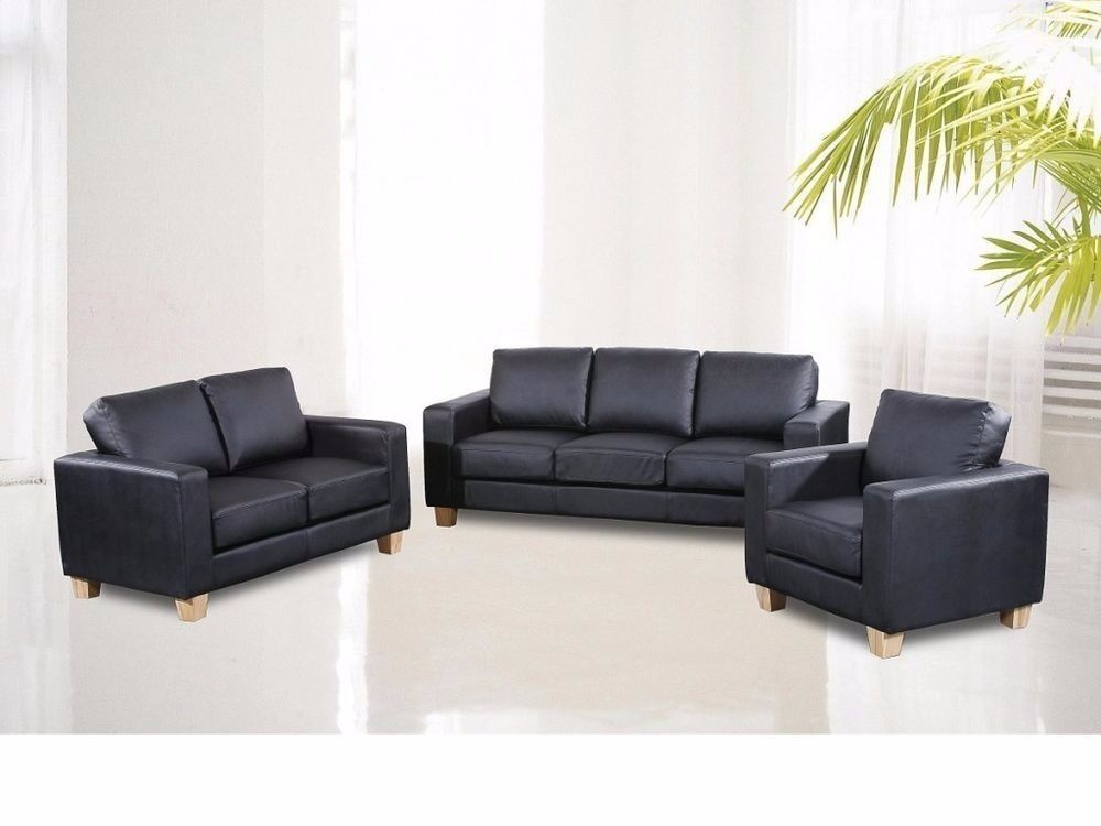 3 2 leather sofa set designs for indian homes 100 guaranteed price brand new bonded pu 1 same next day delivery in newham london gumtree
