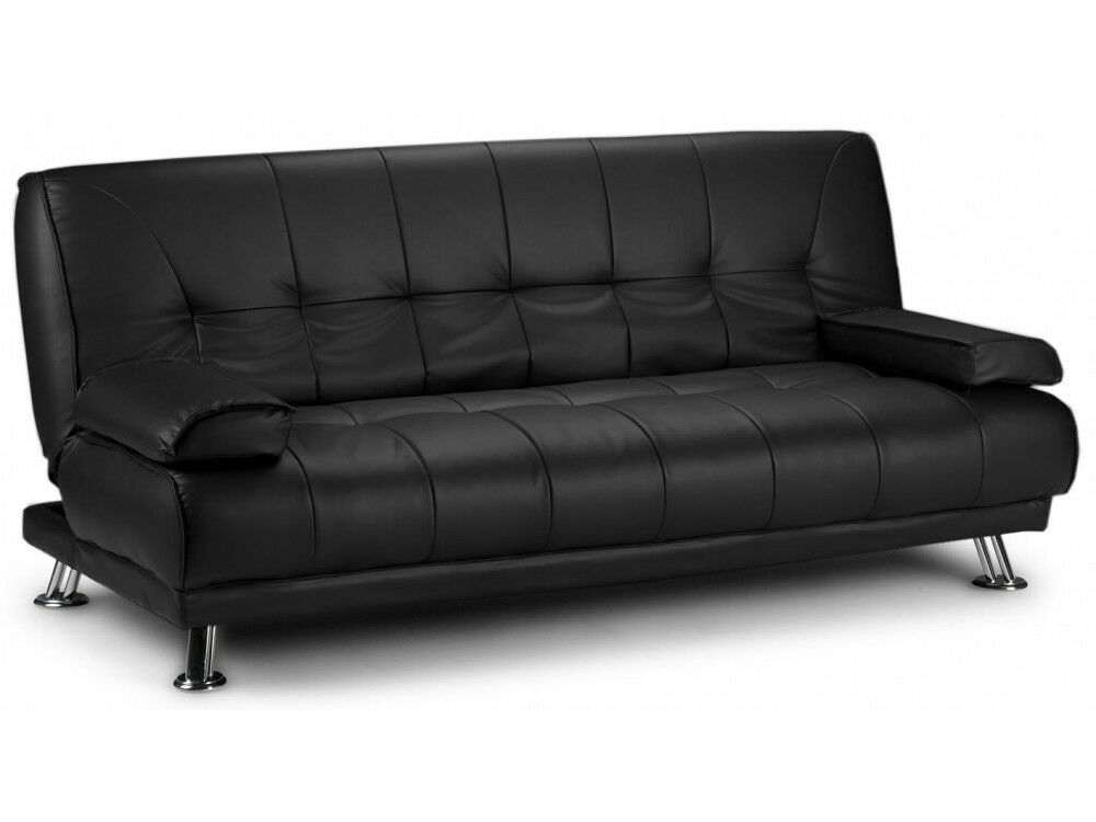 sofa bed next day delivery london cb2 bolla dimensions brand new venice 3 seater luxury leather quality and comfort sofabed in dagenham gumtree