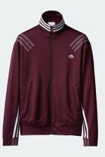 adidas Originals X Alexander Wang 2017SS Flip Track Jacket Maroon BR3761 Size S