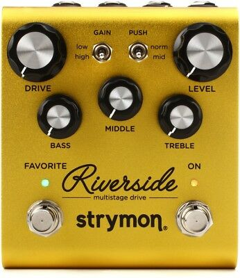 STRYMON RIVERSIDE Multistage Drive NEW Guitar Effect Pedal