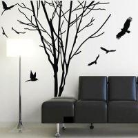 Tree Trunk Wall Decal | eBay