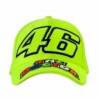 Valentino Rossi VR46 Moto GP The Doctor Amarillo Baseball Gorra Oficial 2019