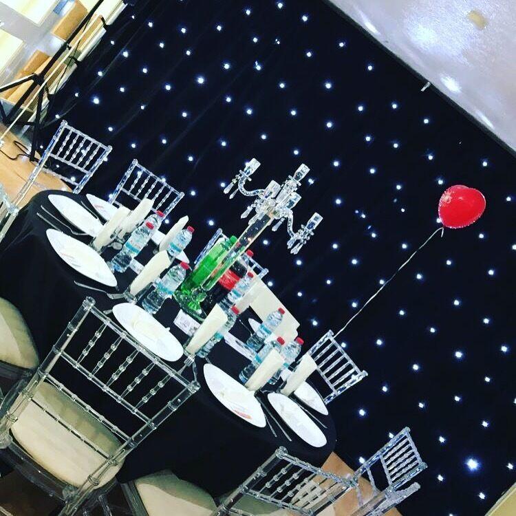 black ghost chair hire glass mat chiavari chairs lien tables in walthamstow london gumtree