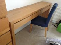 Long dressing table with drawer and chair | in Bearsden ...
