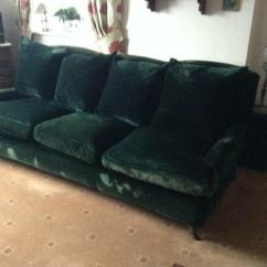 Two Seater Recliner Sofa Gumtree Micasa Bettsofa Kern Vintage Dark Green Velvet | In Redcar, North ...