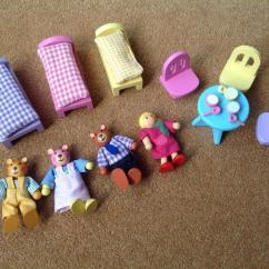 Ikea Rocking Chairs Shiatsu Massage Elc Goldilocks And The Three Bears Wooden Playset | In Nailsea, Bristol Gumtree