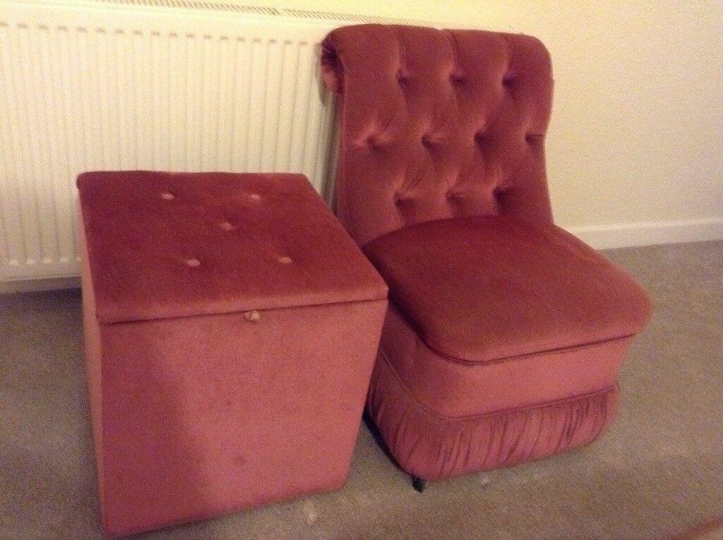 bedroom chair with blanket baby bean bag argos and box pink in newton abbot devon gumtree