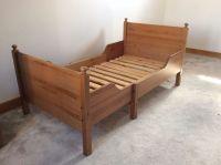IKEA child / toddler extendable wooden bed 'Leksvik' | in ...
